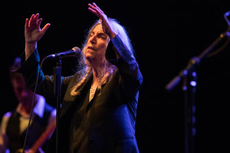 Patti Smith says she is writing more now than any time since the 1970s.