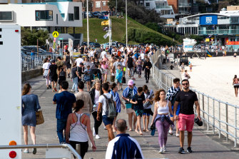 Police are expected to change the rules for the singles bubble and for people exercising at the beach.