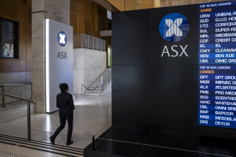 The ASX200 finished within 100 points of the record close set in February last year.