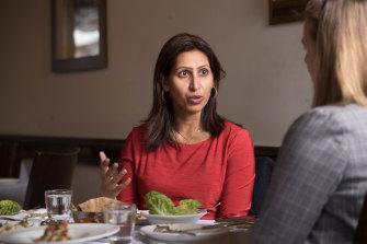 Lunch With Dr Ranjana Srivastava and Wendy Tuohy at Samsara Restaurant.