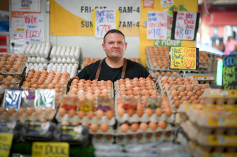 Leo Moda, an owner at Eggsperts, support the redevelopment plans.