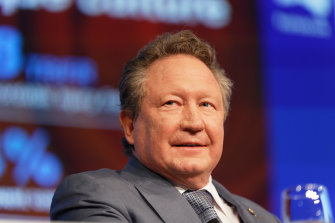 Andrew Forrest wants donors around the world to contribute to his private Fire Fund.