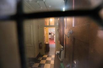 Inside Hambleton House.