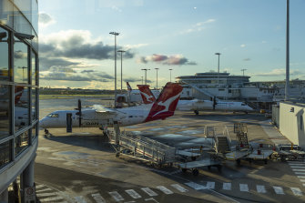 Qantas flights between Sydney and Melbourne in July start at $160 and Jetstar at $79.