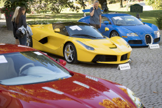Supercars once owned by Teodoro Obiang, the son of the Equatorial Guinea's President Teodoro Obiang Nguema Mbasogo.
