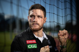 Jack Crisp has been Mr Consistent for Collingwood for more than five seasons.