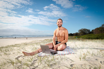 """Conrad Hamill has been living the """"digital nomad"""" lifestyle since June."""