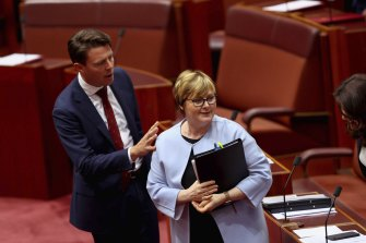 Government Services Minister Linda Reynolds returned to work this week and is focused on overhauling the NDIS.