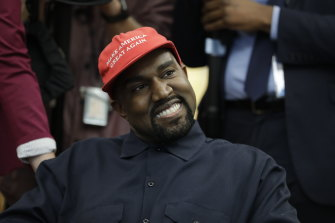 Kanye West says he is taking off his red hat and his tilt for president is serious.
