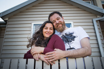 Rima Khachou and Lindsay Rattray are sick of putting off their wedding . Despite COVID they will be married in November.