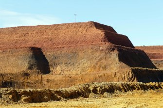 Lyna's rare earths mine at Mount Weld in Western Australia.