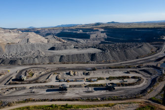 BHP mines thermal coal at Mt Arthur in NSW.