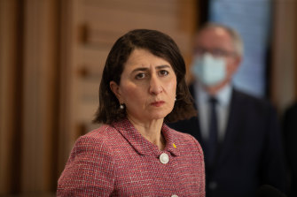 NSW Premier Gladys Berejiklian doesn't want Year 12 students taking the virus home to their families.