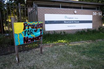 Nineteen residents who caught COVID-19 at Anglicare's Newmarch House in NSW died.