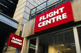 Flight Centre is among a number of travel stocks hit by the AstraZeneca setback.