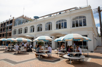 Plans for new outdoor seating at the Coogee Pavilion have upset some residents.