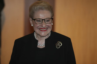 Former speaker Bronwyn Bishop was another controversial entry on the honours list.