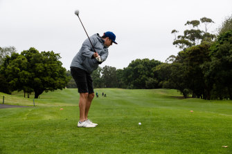 Golfers have criticised plans to transform half the course into parkland.