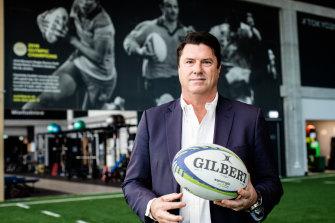 Rugby Australia boss Hamish McLennan.