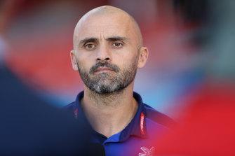 Kangaroos coach Rhyce Shaw has taken personal leave.