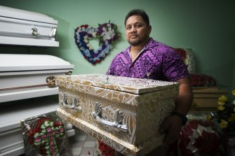 Funeral director Tofilau Henry Papalii-Bourke has handled more than 12 cases of measles fatalities.