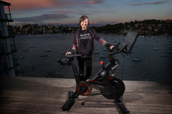 Peloton Australia chief executive Karen Lawson is getting ready for the fitness company's launch in Australia.