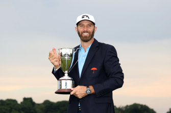 Dustin Johnson's Travelers Championship victory made it 13 consecutive seasons with at least one win for the American.