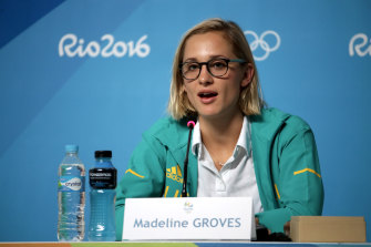 Madeline Groves sparked the inquiry with a social media post before the Olympic trials.