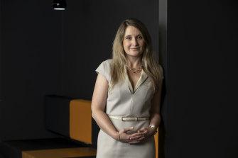 Optus chief executive Kelly Bayer Rosmarin is a former FFA board member.