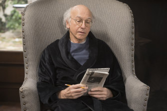 Larry David in Curb Your Enthusiasm. The latest season might be his favourite.