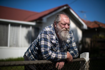 Rick Savickas was earning more than $1000 a week before the pandemic struck Victoria.