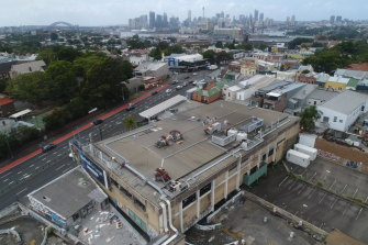 The site of the Balmain Leagues Club is likely to remain untouched.