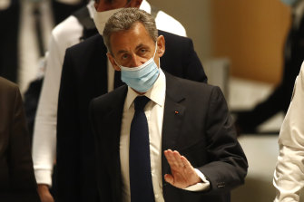 Former French president Nicolas Sarkozy has been found guilty of corruption.