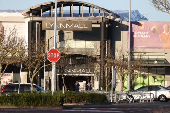 The Lynn Mall shopping centre in Auckland where a known supporter of Islamic State attacked shoppers.