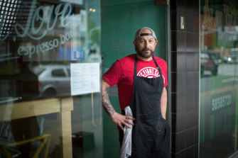 Shepparton restaurateur Philip Barca says business had slowed significantly.