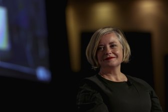 Labor's mayoral hopeful Linda Scott.