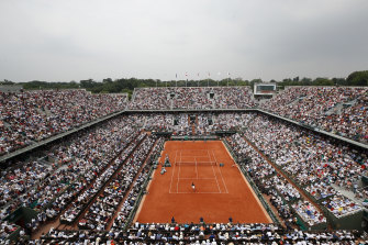 A limited number of spectators will be allowed at the French Open later this month.