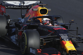Max Verstappen was not happy after a crash with Lance Stroll.