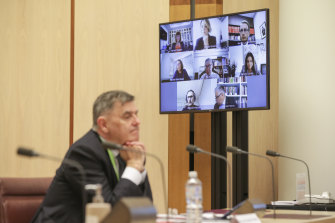 Chief Medical Officer Professor Brendan Murphy told a Senate select committee hearing on COVID-19 they should have formally quarantined travellers earlier.