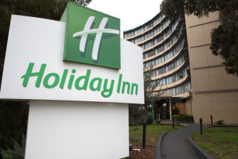 """The Holiday Inn at Melbourne Airport has been closed for a """"terminal clean""""."""