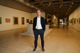 """Plenty of space, but no visitors. The gallery's closure will cause a """"significant hit"""" to the budget."""
