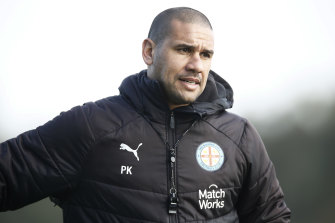 Patrick Kisnorbo has succeeded Frenchman Erick Mombaerts as Melbourne City head coach.
