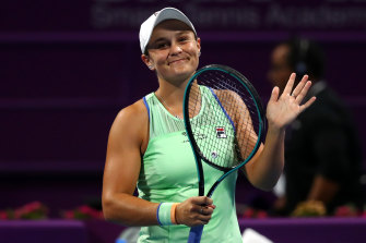 Still the one: Australia's Ashleigh Barty.