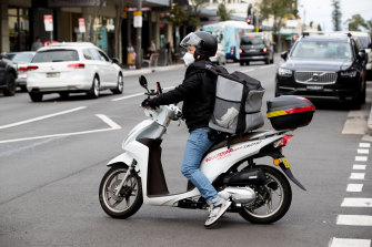 Food delivery riders have had safety concerns.