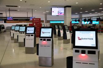 Empty but valuable - Sydney International Airport.