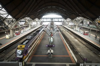 The V/Line rail system has been largely shut for more than a week, with about 300 drivers isolating over several days.