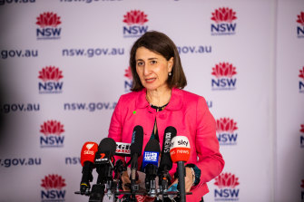 """Premier Gladys Berejiklian says she stands by the """"difficult"""" decision to impose harsher lockdowns on south-west and western Sydney"""