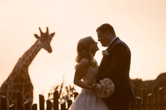 A photo from Andrea and Brendan Oxford's wedding by photographer Ryan Schembri.