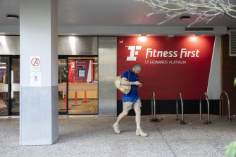 Fitness First in St Leonards underwent deep cleaning after a COVID-19 case linked to The Apollo restaurant attended the gym.