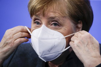 German Chancellor Angela Merkel held a crisis meeting with governors after some German regions halted the use of AstraZeneca vaccines in under-60s.